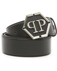 Philipp Plein - Logo Buckle Belt - Lyst