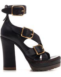 Chloé Daisy 120 Platform Sandals - Black