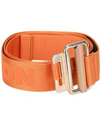 Heron Preston Logo Tape Belt - Orange