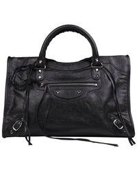 Balenciaga Classic City Shoulder Bag - Black