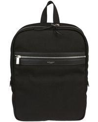 Saint Laurent Zipped Backpack - Black