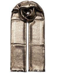BVLGARI Logomania Stole - Metallic