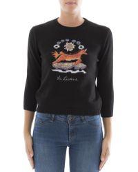 Dior - La Licorne Unicorn Sweater - Lyst