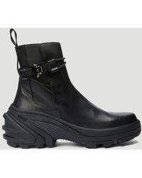 1017 ALYX 9SM Vibram Sole Chelsea Boots - Black