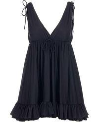 Balenciaga Babydoll Top - Black