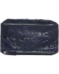 Givenchy Mini Pandora Shoulder Bag - Blue