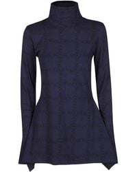 JW Anderson High-neck Knit Top - Blue