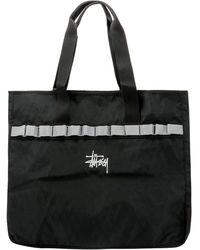 "Stussy ""utility"" Tote Bag - Black"