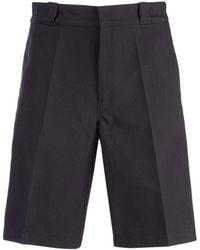 Prada black Twill Bermuda Shorts