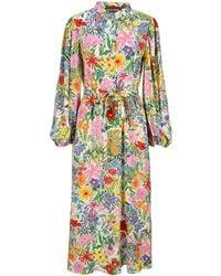 Gucci X Ken Scott Print Dress - Multicolour