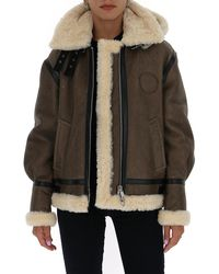 Chloé Aviator Jacket - Brown