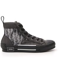 Dior Homme B23 High Top Trainers - Black