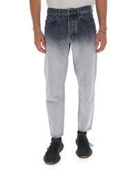Marcelo Burlon Gradient Effect Jeans - Gray