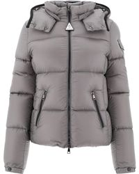 Moncler Fourmi Hooded Down Jacket - Grey