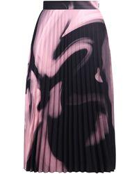 Off-White c/o Virgil Abloh Liquid Melt Pleated Midi Skirt - Multicolour