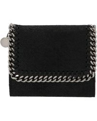 Stella McCartney Small Falabella Wallet - Black