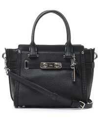 COACH - Swagger Small Tote Bag - Lyst