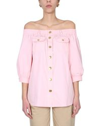 Boutique Moschino Shirt - Pink
