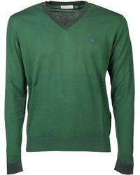 Etro Cotton Jumper - Green