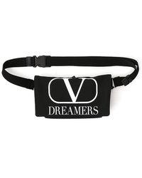 Valentino Vlogo Dreamers Belt Bag - Black