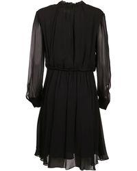 Calvin Klein Viscose Dress - Black