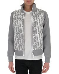 Dior Oblique Technical Blouson - Grey