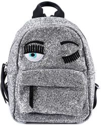 Chiara Ferragni - Wink Glitter Backpack - Lyst