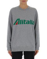 Alberta Ferretti - Alitalia Sweatshirt - Lyst