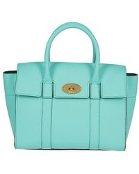 01bbcb5011a Mulberry Bayswater Soft Tan Leather Tote Wheat in Natural - Lyst