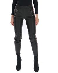 Alexander McQueen Side Stripe Skinny Fit Pants - Black