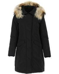 Woolrich Modern Vail Parka Coat - Black