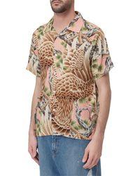 Stussy Big Falcon Print Shirt - Multicolour