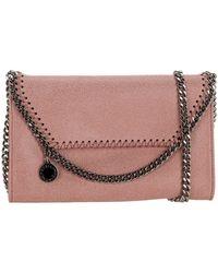 Stella McCartney Falabella Mini Shoulder Bag - Pink