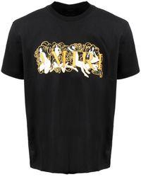 Amiri Graphic Printed Crewneck T-shirt - Black