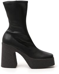 Stella McCartney Chunky Ankle Boots - Black