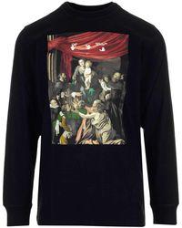 Off-White c/o Virgil Abloh Caravaggio Painting Long-sleeve T-shirt - Black