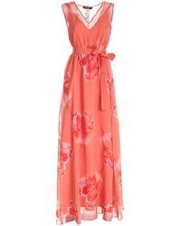 Max Mara Studio Guglia Maxi Dress - Pink