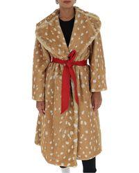 Marc Jacobs The Faux Fur Coat - Multicolour