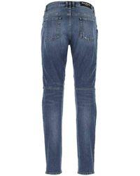 Balmain Stretch Denim Jeans - Blue