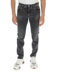 Dolce & Gabbana Straight-leg Jeans - Grey