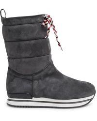 Hogan - Grey Restyling Boots - Lyst