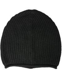 Woolrich Rib Knit Beanie - Black
