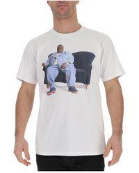 R13 Biggie Couch Curtis T-shirt - White