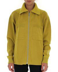 Issey Miyake Knitted Jacket - Yellow