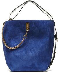 Givenchy Gv Bucket Bag - Blue