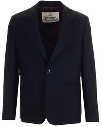 Vivienne Westwood - Giacca Classica Nera - Lyst