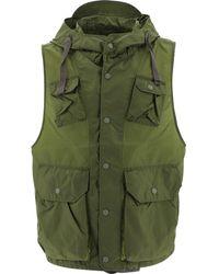 "Engineered Garments ""field"" Nylon Vest - Green"