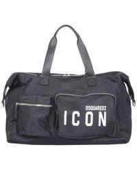 DSquared² Nylon Duffle Bag - Multicolour