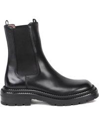 Ferragamo Classic Chelsea Boots - Black