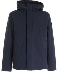 Woolrich Other Materials Outerwear Jacket - Blue